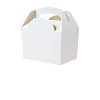 White Meal Party Box